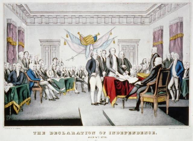 Congress Declares Independence!