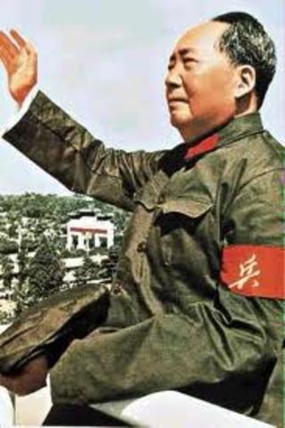 Communist leader Mao