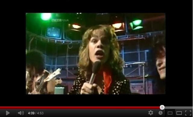 The new york dolls play on the bbc