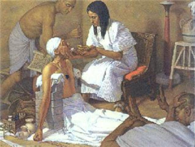 1000 BCE Health records are maintained