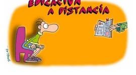 Historia de la educacion a distancia. timeline