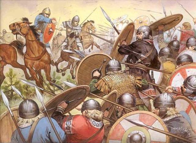 Visigoths Captured Rome