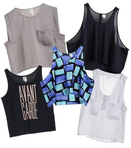 Tröjor, skjortor & linnen på 80-talet