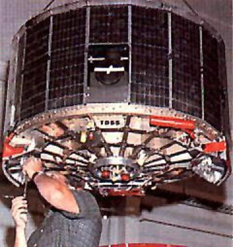 ITOS-1 Launched
