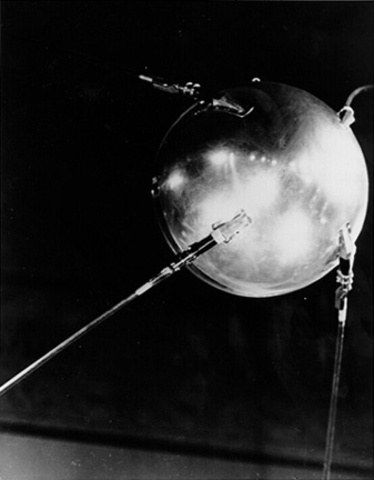Sputnik Launched, First Satellite Launched