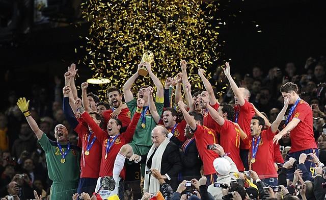 Spain wins 3 Straight
