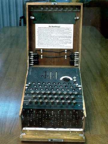 Enigma Machine Invented