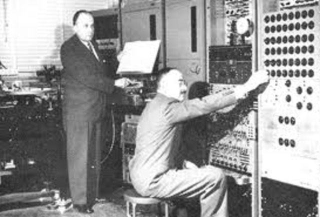 The first Synthesizer was created