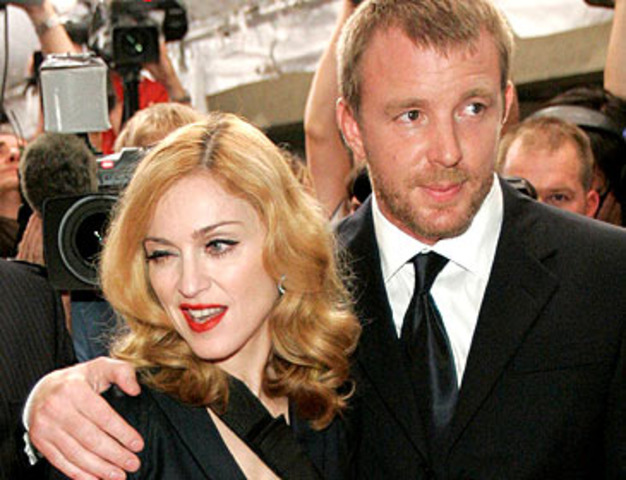 Madonna married Guy Ritchie