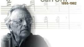 Carl Orff timeline