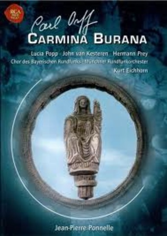 "Orff is most known for Carmina Burana a ""scenic cantata""."