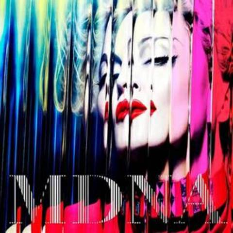 "Madonna has just released their thirteenth album called ""MDNA"""