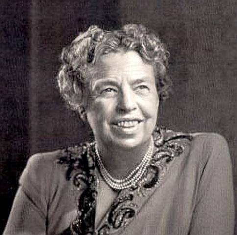 Eleanor Roosevelt devient la Première dame des Etats-Unis