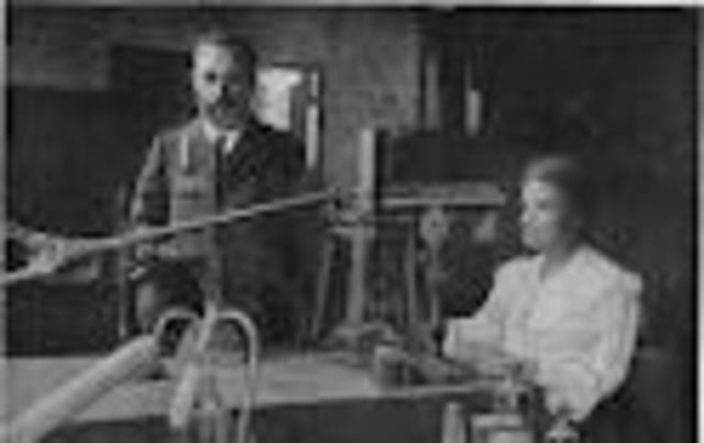 The discovery of radioactivity by Henri Becquerel in 1896 inspired the Curies in their brilliant researches and analyses which led to the isolation of polonium, named after the country of Marie's birth, and radium.