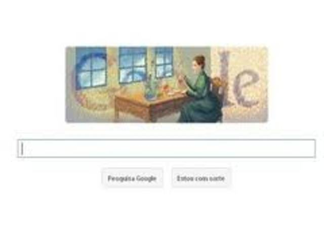 Marie Curie was honored by google