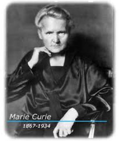 Curie died in Savoy, Paris, of leukaemia caused by excessive amounts of radiation towhich she was exposed while carrying out experiments.