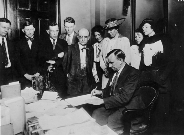 Beginning of Ratification
