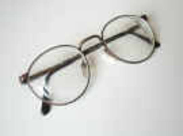 First Eyeglasses Invented