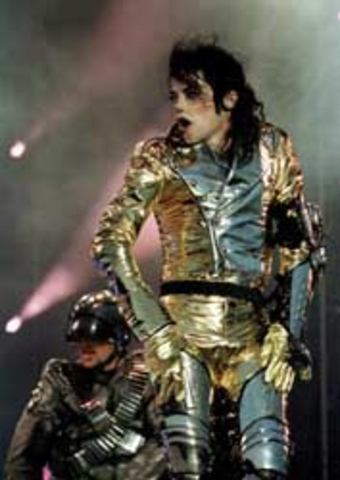 Michael Jackson dör