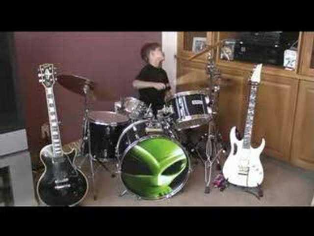 First drum set