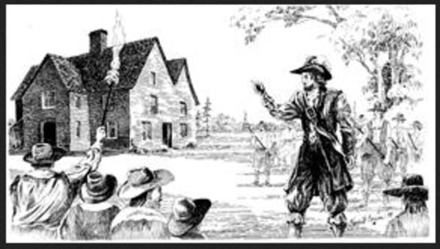 bacons rebellion infleunce on jamestown In 1676, nathaniel bacon led a rebellion of between 400 to 500 men opposing the governor this is known as bacon's rebellion they entered the house of burgesses and began shooting at the council members the rebels also burned much of jamestown and attacked several indian villages.