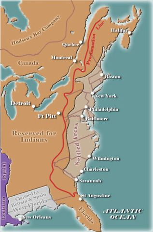 The Road To The American Revolution 1763 1776 Timeline