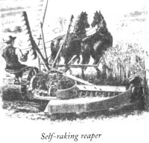McCormick Self Raking Reaper