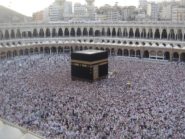 Muslims capture Mecca and the Ka'ba is cleansed