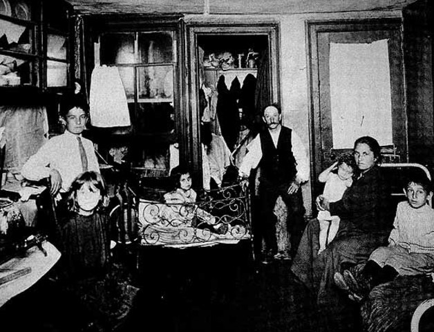 """Jacob Riis' """"How the Other Half Lives: Studies Among the Tenements of New York"""""""