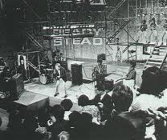 Uk's first music TV Programme