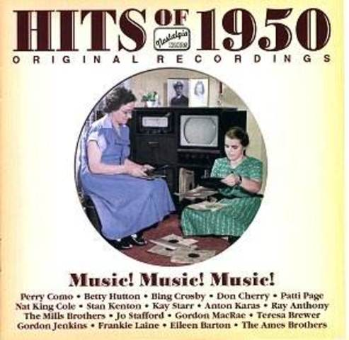 Music Of The 1950's