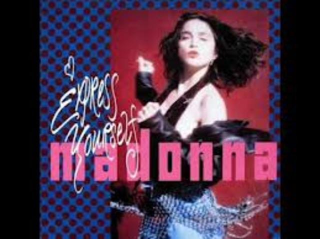 Madonna- Express Yourself wins award