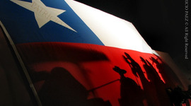 La historia de Chile timeline