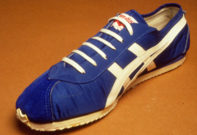 They took the design of his shoe and manufactured it and started building  it. His first shipment of the shoe was in ...