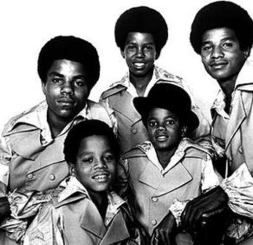 Jackson 5 signs with Motown Records