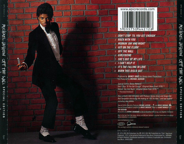 "Michael releases his first album as an adult ""Off the Wall"""