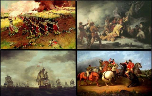 Revolución Americana. Finales siglo XVIII