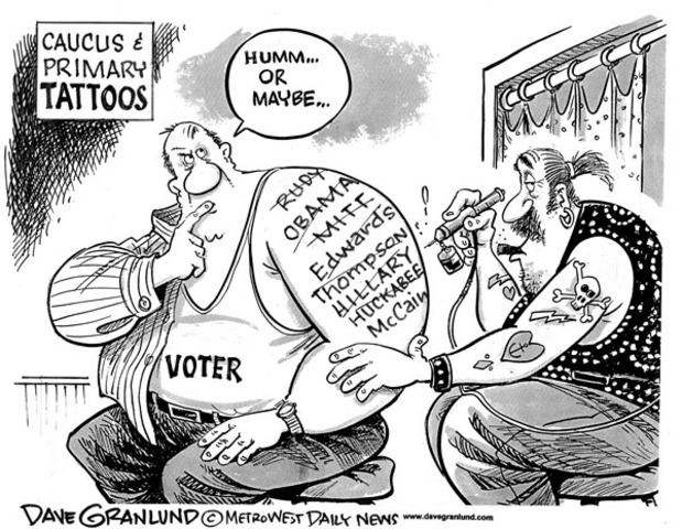 Primaries and Caucus