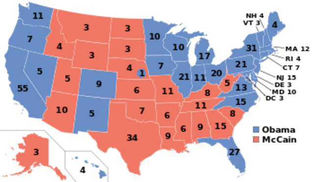Vote Of the Electoral College