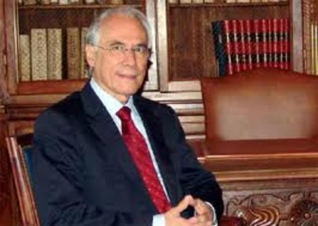 El presidente : MISAEL EDUARDO PASTRANA
