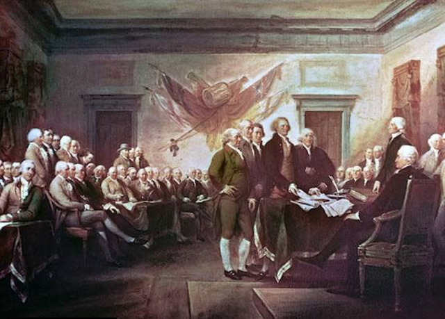 United States declared independence from Great Britain