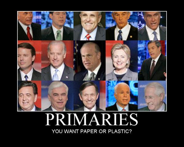 Caucauses and Primaries