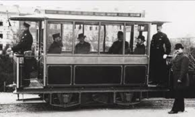 World event 2 - 1st Electric Tram