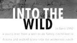 Into the wild, nonfiction, 203 pg. timeline