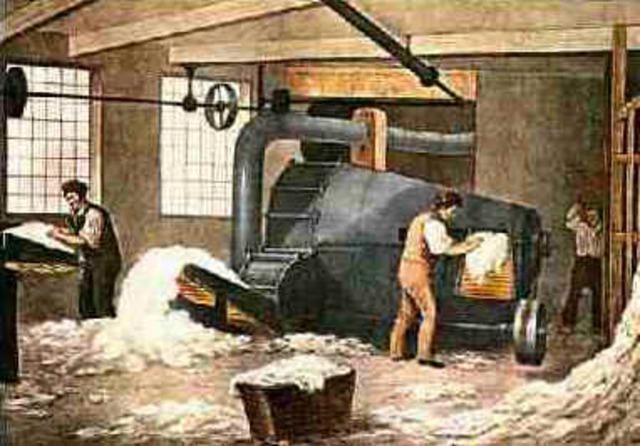 Primera Revolución Industrial. Final Siglo XVIII- Primera mitad del siglo XIX.