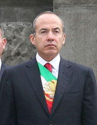 Felipe Calderón envía las ternas para cubrir a los Ministros Azuela Güitrón y Góngora Pimentel