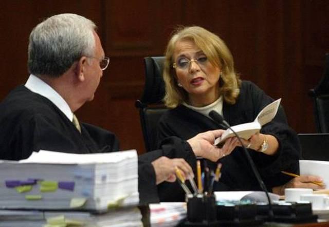 Retiros de la Ministra Sánchez Cordero y del Ministro Silva Meza