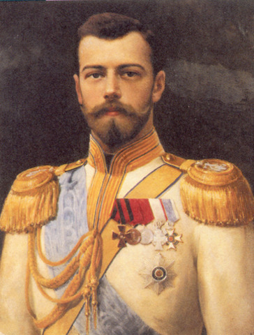 Czar Nicholas II abdicates the Russian throne