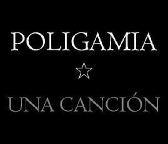 Primer album con Poligamia ( una cancion )