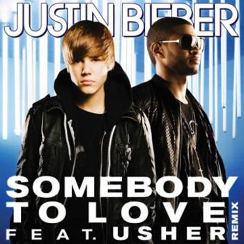El segundo sencillo de su álbum My World 2.0, titulado «Somebody to Love»,